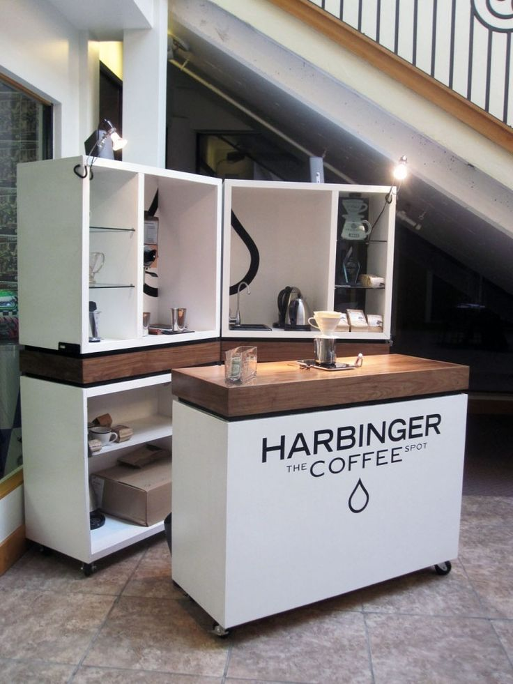 The 25 best coffee carts ideas on pinterest for Coffee cart design