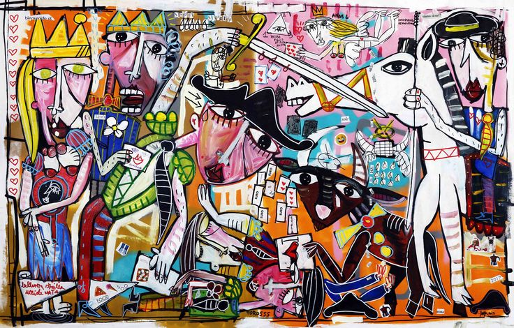 painting, large painting original modern art, Italian artist, decor modern paintings strong, bright colors, pop art di paintingsiviglia su Etsy