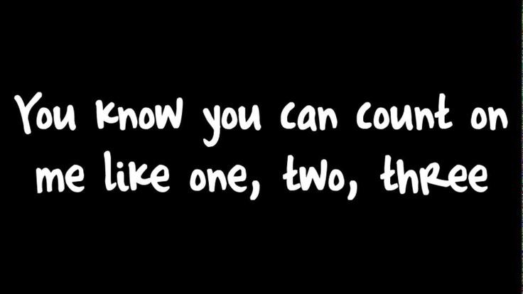 ♣ Count On Me - Bruno Mars Lyrics (Canción Anuncio McDonals 2013) Macdonals ♣
