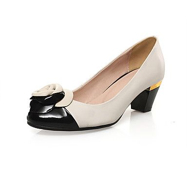 Women's Shoes leather high Heels flower pump Wedding Party & Evening Dress Stiletto Heel black women pump 5256384 2017 – $80.07