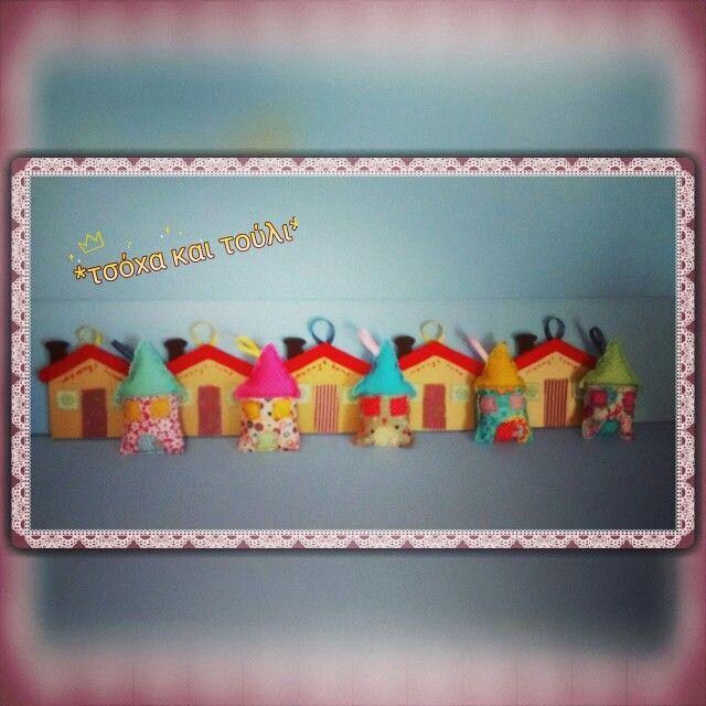 Fabric houses...wood houses