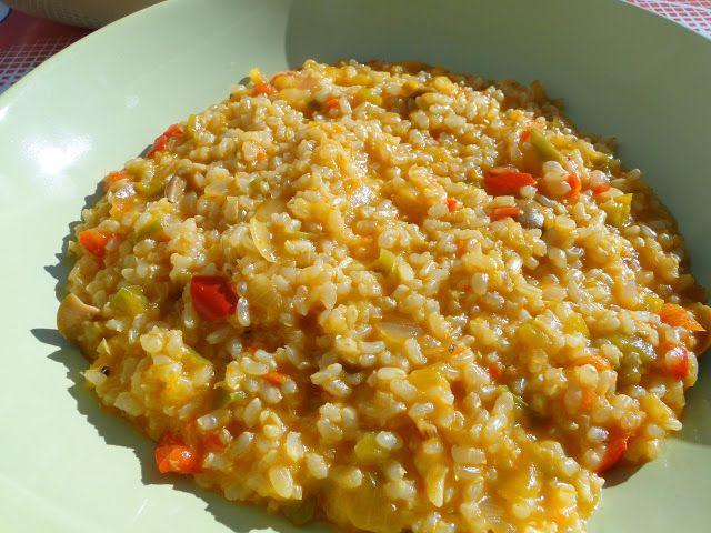 Arroz integral con aceitunas recetas - Arroz con verduras light ...