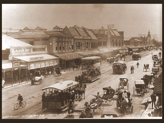 West St Durban Christmas 1895