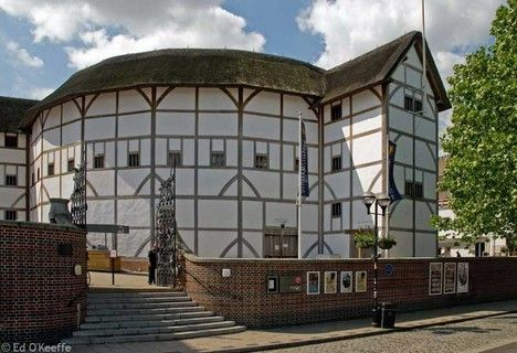 Seeing a play in the Globe Theatre would transport us back to Shakespeare's day!