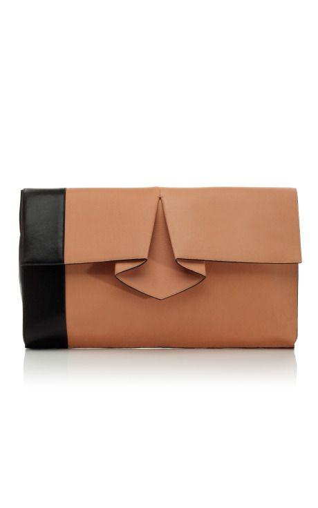 Shop Vionnet Large Origami Pochette at Moda Operandi