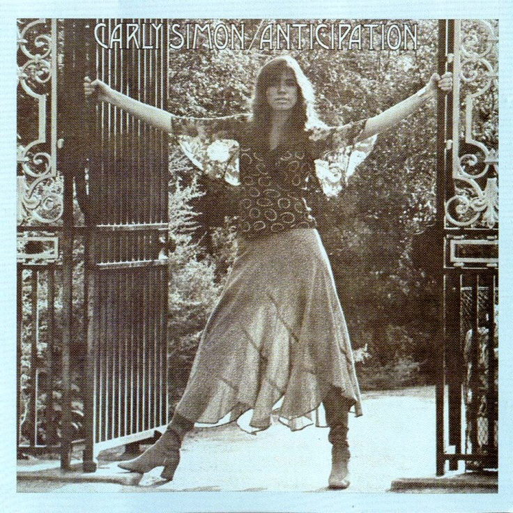 """Carly Simon. This is an early fashion sense memory, seeing this album cover and thinking, """"I wish I could look like that."""""""