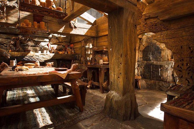 best 25 hobbit house interior ideas on pinterest stone. Black Bedroom Furniture Sets. Home Design Ideas