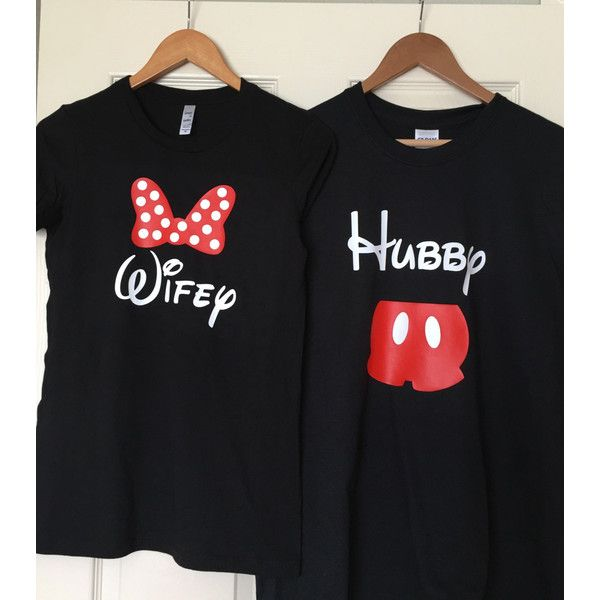 Couples Disney Shirts ($38) ❤ liked on Polyvore featuring tops, disney tops, sparkly shirts, shirt top, disney shirts and sparkly tops