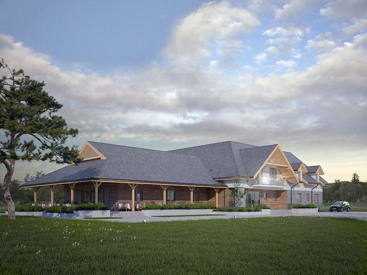 Libera to projekt pensjonatu z centrum SPA. Pełna prezentacja projektu znajduje się na stronie: https://www.domywstylu.pl/projekt-pensjonatu-libera.php. #libera #pensjonat #projekty #projekt #domywstylu #mtmstyl #rekreacja #spa #projektygotowe #architektura #arcitecture