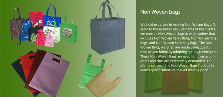 We hold expertise in making #NovWovenBags To Cater to the assorted requirements of the clients. We provide Non Woven Bages in wide Variety That includes Non Woven #CarryBags, Non Woven #ToteBags, and Non Woven #ShoppingBags.