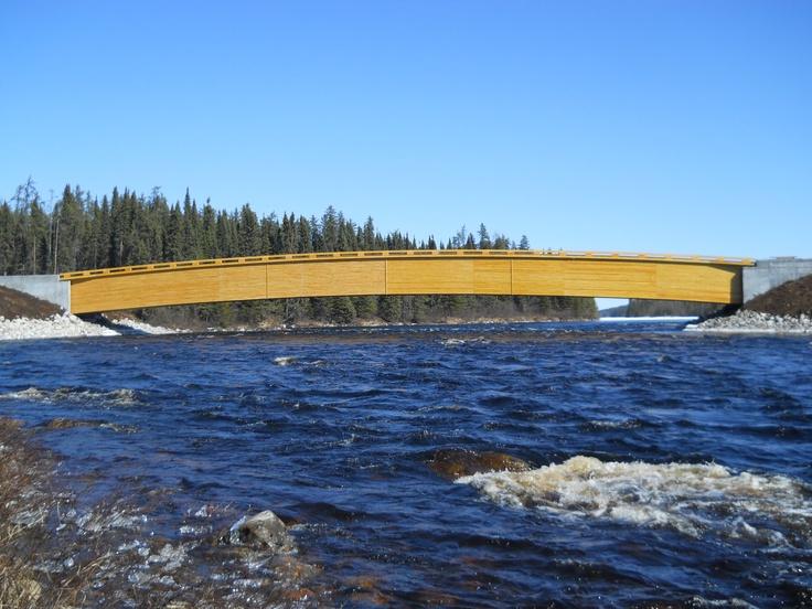 Chantier Chibougamau - Nordic structure bois  http://www.chibou.com/
