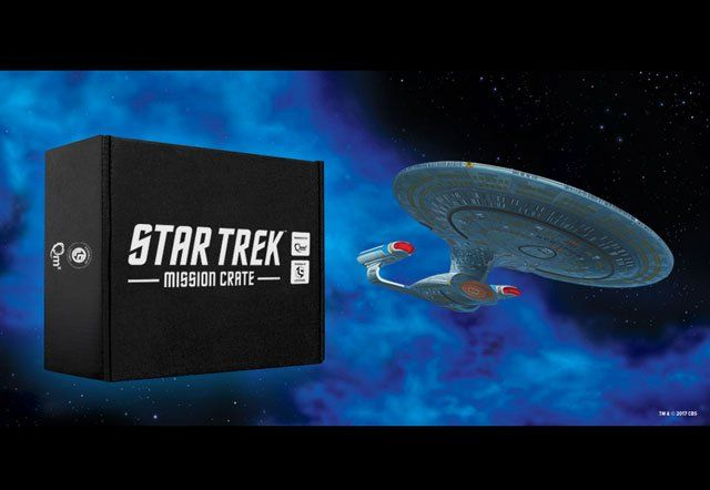 Star Trek Loot Crate Announced Now Available for Pre-Order   Star Trek Loot Crate announced now available for pre-order  Loot Crate and Quantum Mechanix Inc. (QMx) today announced the pre-order availability of a new Star Trek Mission Crate. Under license by CBS Consumer Products this crate will offer unique experiences both online and offline. Engineered by QMx this Star Trek Loot Crate experience connects Star Trek fans of all ages to their favorite stories from the Star Trek Universe.  All…