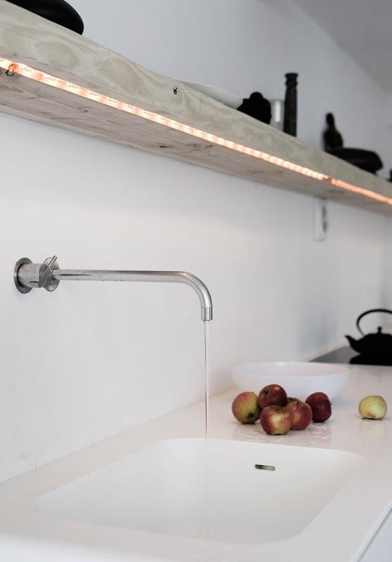 Norm Architects - guirlande... éclairage cuisine