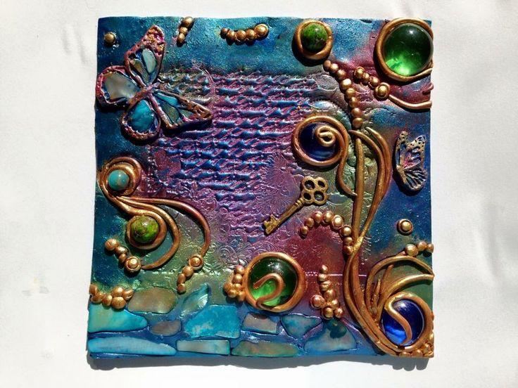 Tiles of my secret garden Luna Del Sur Art