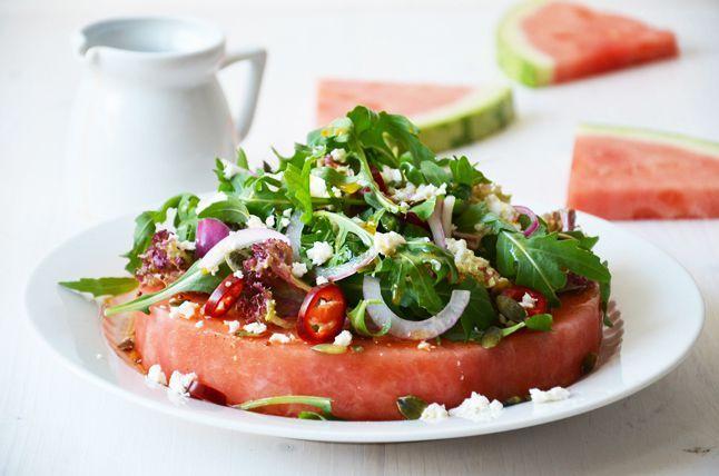 Kublanka vaří doma - Pikantní melounový salát