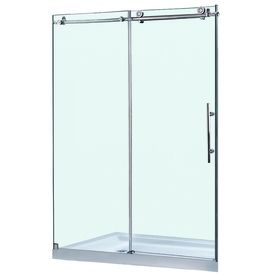 DreamLine�60-in W x 76-in H Frameless Frameless Sliding Shower Door. This is the shower door we are going to be putting into the shower.