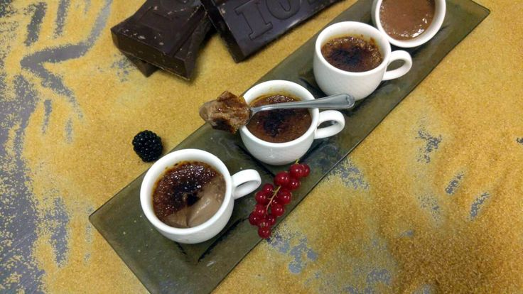 Creme Brulee με κουβερτούρα ΙΟΝ | ION Sweets