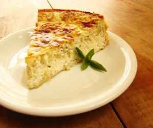 Receita de quiche de queijo - Show de Receitas