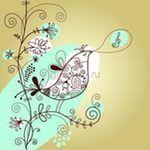 kuş çizimi — Yandex.Görsel – Posts related to Free Samples Floral Bird Vector.