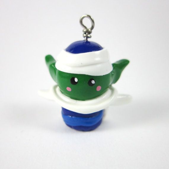 Dragon Ball Z inspired Piccolo chibi charm by TrenoNights on Etsy, $11.00
