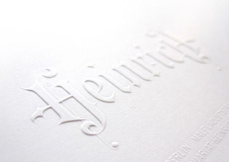 Antiquariat Heinrich Corporate Design » http://designbote.com/13170/antiquariat-heinrich