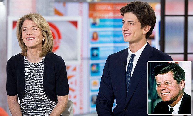Jack Schlossberg is the 24-year-old son of JFK's only surviving child, Caroline Kennedy Schlossberg, and her husband, exhibit designer Edwin Schlossberg.