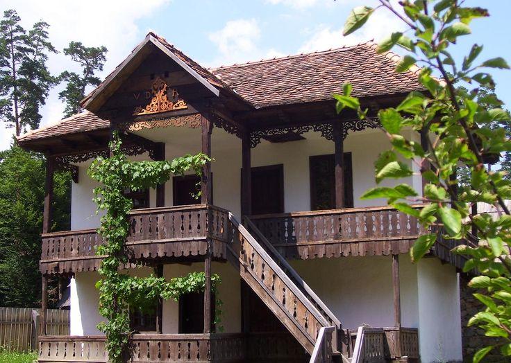 Romania traditional romanian house architecture
