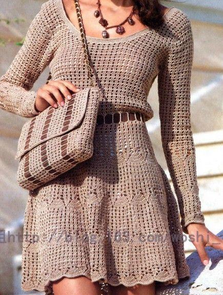Летнее женское вязаное платье. Комментарии : LiveInternet - Российский Сервис Онлайн-Дневников