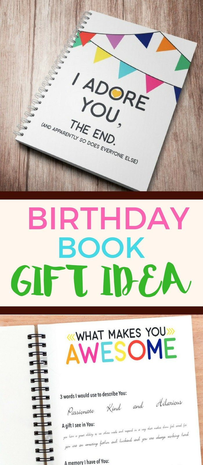 Happy Birthday To My Husband Letter Book Birthday Present For