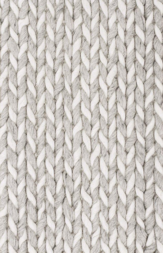 Airdrie Grey Braided Wool Viscose Rug