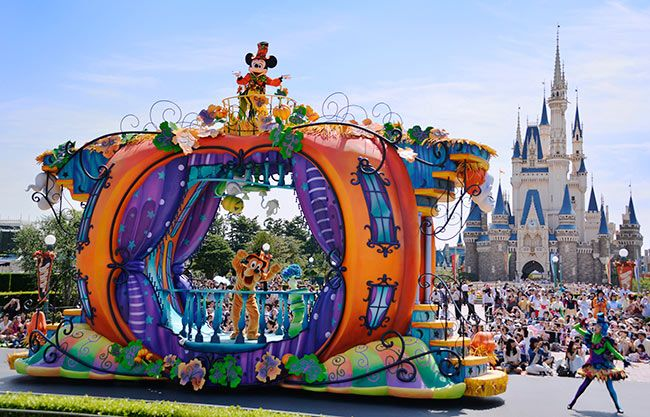 Disneys Halloween Tokyo Disneyland 2015