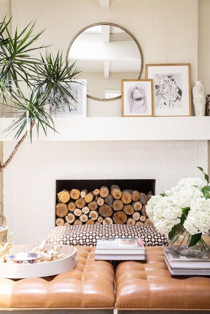 25 best ideas about Fireplace art on