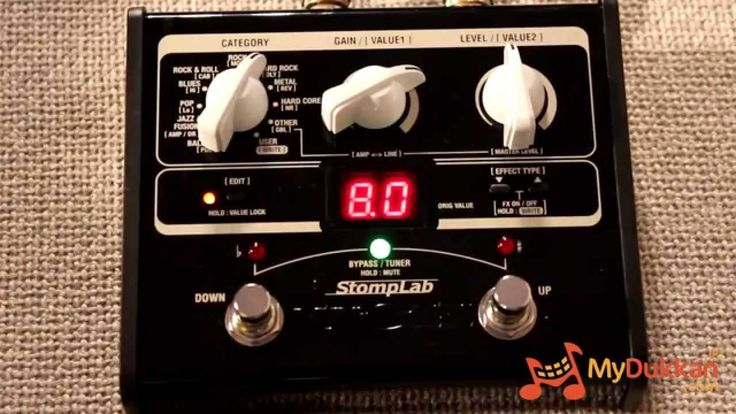 Vox StompLab 1G - Gitar Prosesör İncelemesi (+oynatma listesi)