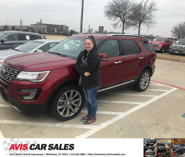 Congratulations Leann On Your Ford Explorer From Jim Proctor At
