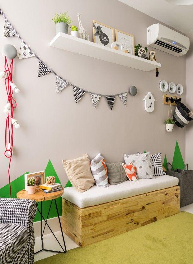 Quarto de bebê tem pegada moderninha com cores neutras e objetos preto e branco - Casa e Jardim   Quarto de bebê