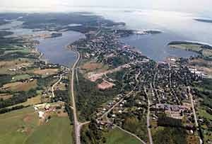 Lunenburg, Nova Scotia - where Haven is filmed and famous lighthouse route