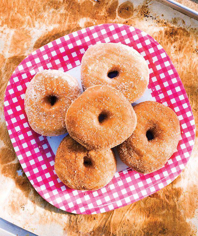 Cinnamon and Sugar Doughnut atBliss Baked Goods