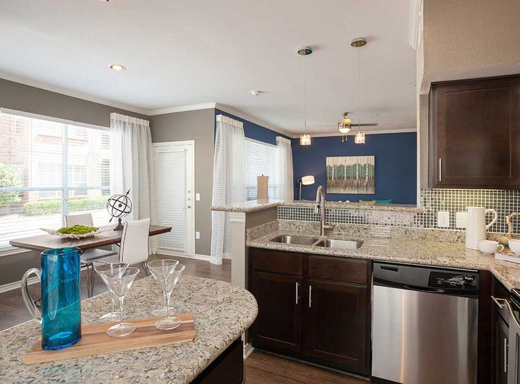 interiors at amli memorial heights luxury apartments in houston