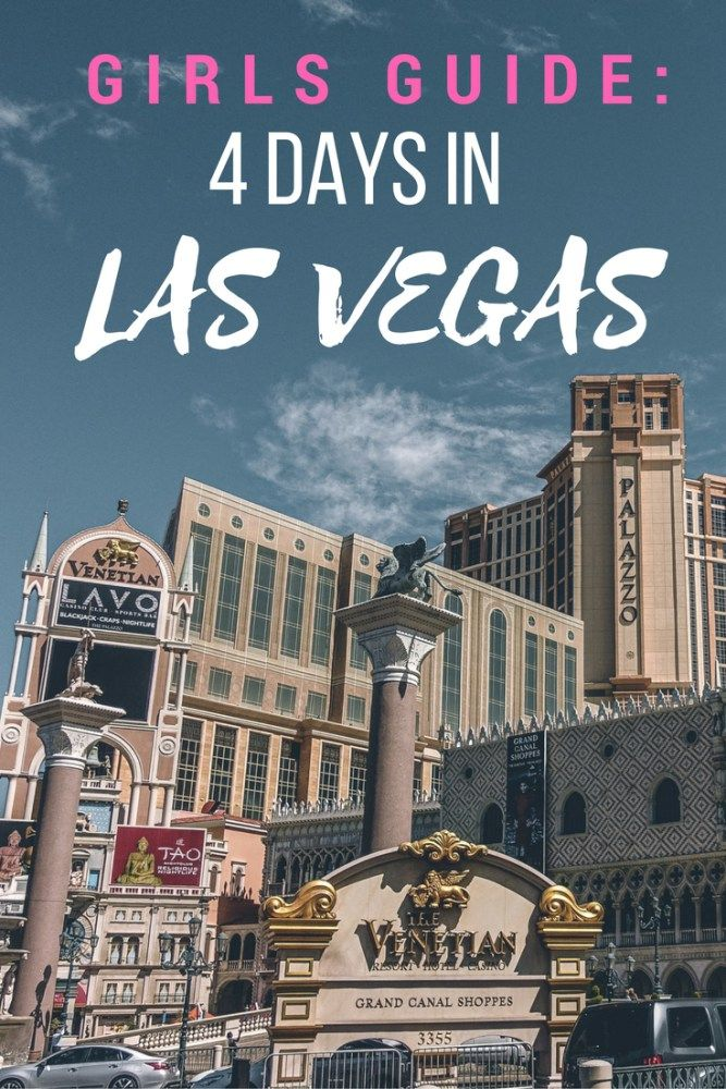 Need ideas on what you can do for 4 days in Las Vegas? Here's a perfect itinerary! | Wanderlustyle.com