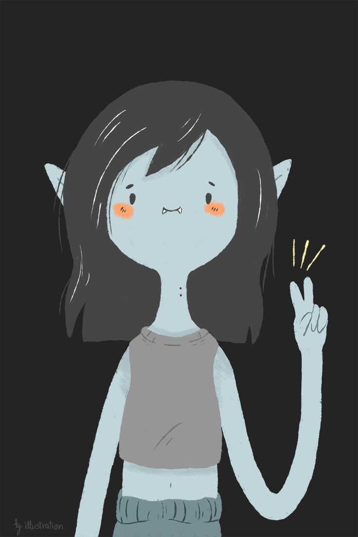 I feel like Marceline is Dallas' drawing inspiration for Reagan XD