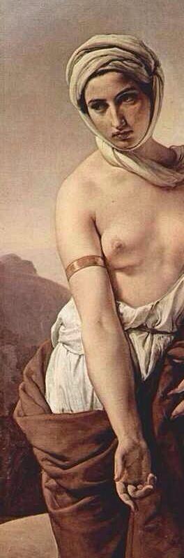 Ruth (detail), 1835, by Francesco Hayez (Italian, 1791-1881) ______________________________ ♥♥♥ deniseweb.free.fr ♥♥♥