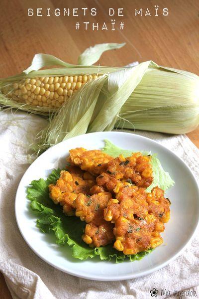 Beignets de maïs thaï - végétalien: http://www.mavegetable.com/archives/2013/07/17/27663582.html