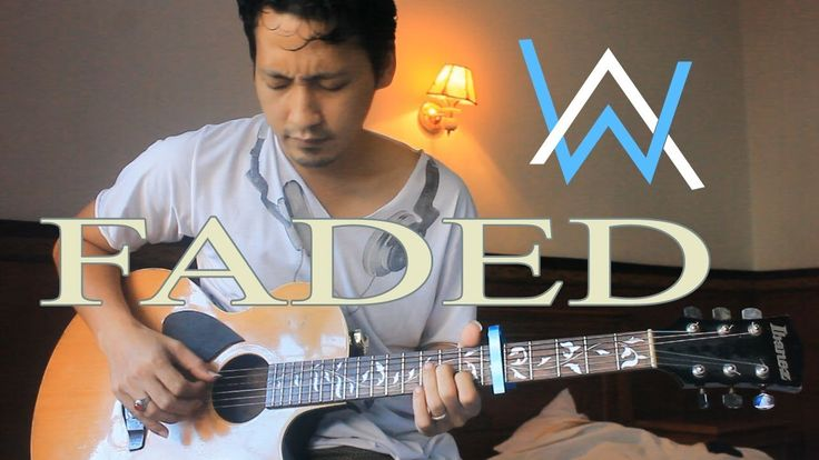 FADED alan walker cover - lyrics - dhords - fingerstyle guitar by Java H...