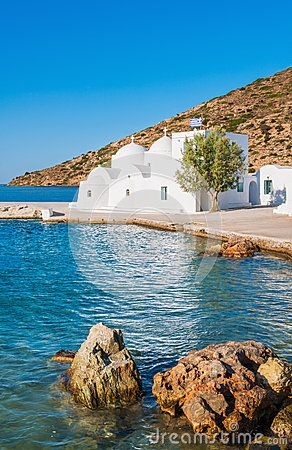 Chapel by the sea ~ Sifnos
