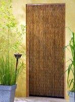 Bambusvorhang Türvorhang Saigon 90x200 cm mit 90 Strängen auf 90cm Breite!