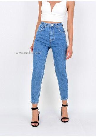 4b305467f0e1 Jean mom fit   A acheter ❤ ❤ ❤   Pinterest   Mom jeans, Jeans ...