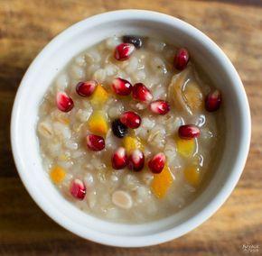 Ashure Noah's Pudding | Aşure | The Oldest Dessert in the World | Turkish Dessert | Porridge | Congee | Vegan Dessert | Grains | Dried Fruit | Nuts | Dessert Recipe | Sweet | TheNavagePatch.com