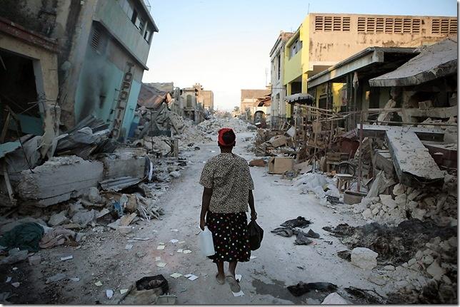 Haití Quake 2, by Damon Winter
