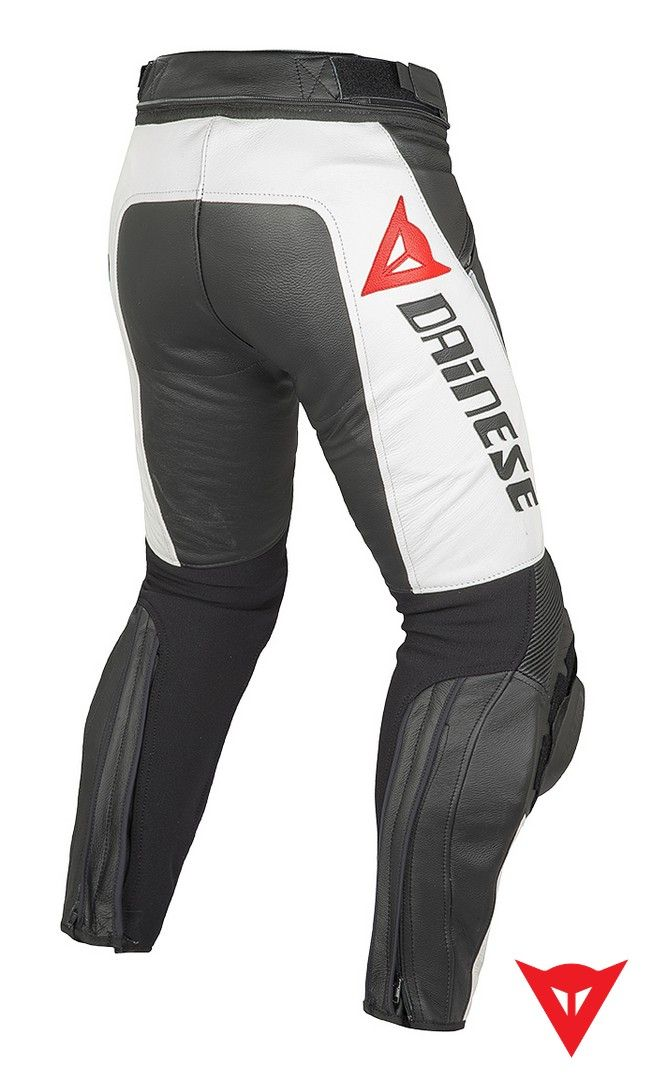 Dainese Leather Pants Delta Pro C2 Pelle - back