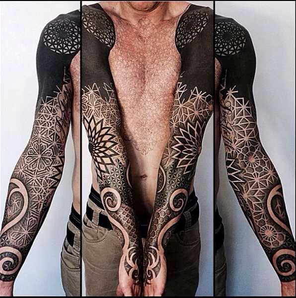 best 25 geometric tattoos men ideas on pinterest mens. Black Bedroom Furniture Sets. Home Design Ideas